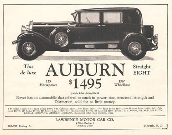 Auburn Automobile Salon Model